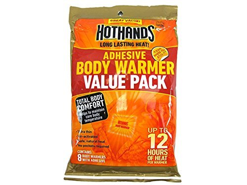 HotHands Body Warmer with Adhesive 8 Warmer Value Pack by -