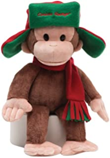 gund curious george fargo hat stuffed animal - Curious George Halloween Games
