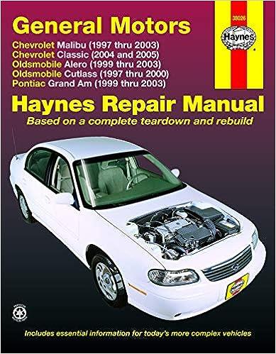 GM Malibu, Alero, Cutlass & Grand AM, 1997 Thru 2003: Haynes