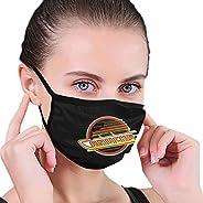 KIKIMEN Van Vancouver- Canucks Hockey Team Face Mask Washable Reusable Mouth Shield Anti-Dust Cloth Breathable