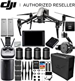 DJI Inspire 2 Quadcopter (CinemaDNG and Apple ProRes Licenses Included) with Zenmuse X7 + DJI CrystalSky 7.85' High-Brightness Monitor + DL & DL-S Lens Set Ultimate Handheld Bundle