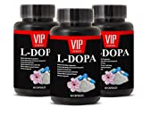 Pure L-Dopa 350mg – Mucuna Pruriens Extract (3 bottles 180 capsules)