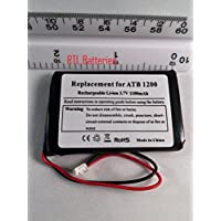 Replacement Battery for ATB-850 ATB-950 ATB-1200 Battery for RTI T1 T1-B T2 T2+ T2-B T2-C T2-Cs T3 & TheaterTouch Universal Remote Controllers