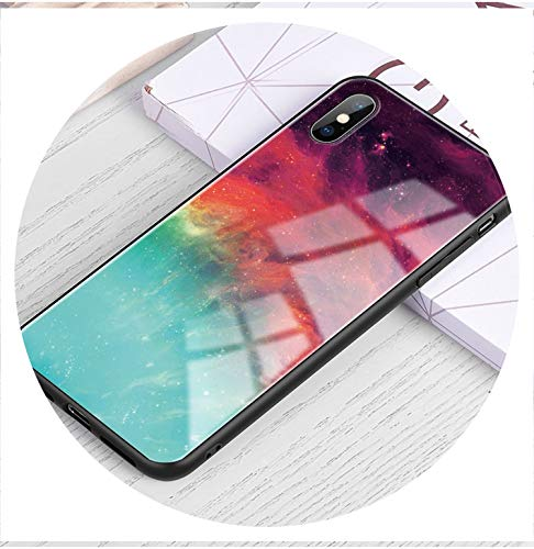 Luxury Phone Case on for iPhone 5S SE 6 6S Plus 7 8 Plus Coque Tempered Glass Cover Case for iPhone X XR XS MAX i Phone 5 6 S,Pattern 09,for iPhone 8 Plus (Iphone 5 S Case London)