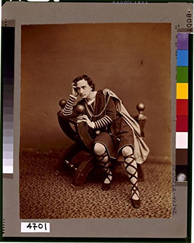 Hamlet Costumes For Sale (Photo: Hamlet,To Be or Not to Be,That is the Question,c1870,Edwin Booth,Costume)