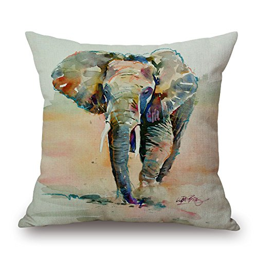Bestseason 20 X 20 Inches / 50 By 50 Cm Elephant Pillow Cases ,both Sides Ornament And Gift To Kitchen,christmas,home Office,sofa,bf,monther (Pottery Barn Kitchen compare prices)