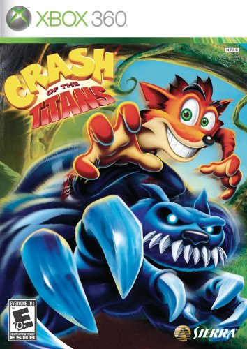 Crash of the Titans - Xbox 360 (Crash Bandicoot Video Game)