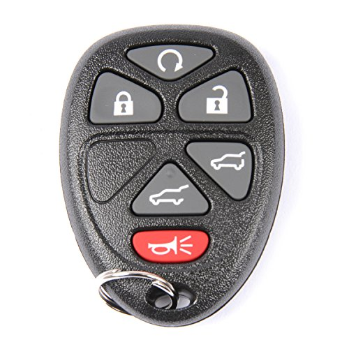 ACDelco 22951510 GM Original Equipment 6 Button Keyless Entry Remote Key Fob