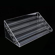 Yosoo Clear Nail Polish Stan Varnish Acrylic Perspex Retail Cosmetic Display Stand Makeup Storage rack ( 6 Tier)