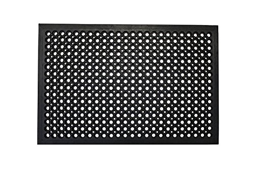 Envelor Home and Garden Durable Anti-Fatigue Restaurant Bar Drainage Rubber Floor Mat (24 x 36 inches)