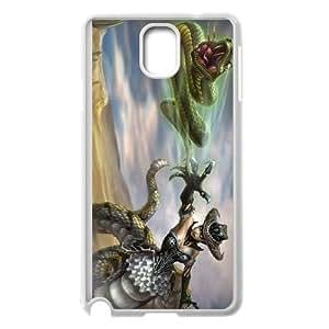 Samsung Galaxy Note 3 Phone Case Cover White League of Legends Desperada Cassiopeia EUA16001322 Rhinestone Phone Covers