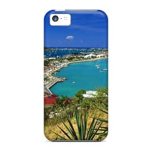 Hot Tpye Marigot Bay Saint Martin French West Indies Case Cover For Iphone 5c