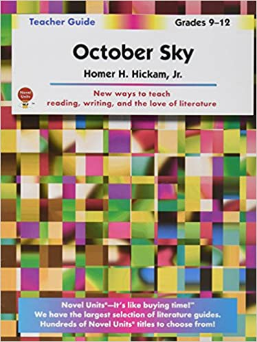 October sky teachers guide by novel units inc novel units inc october sky teachers guide by novel units inc novel units inc 9781581308167 amazon books fandeluxe Gallery