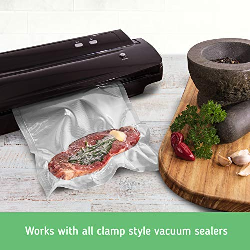 Nutri-Lock Vacuum Sealer Bags. 2 Pack 11x50 Commercial Grade Bag Rolls for FoodSaver, Sous Vide by Nutri-Lock (Image #5)
