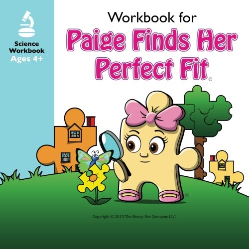 """Books : """"Paige Finds Her Perfect Fit"""" Workbook Companion (The Adventures of Paige & Paxton)"""