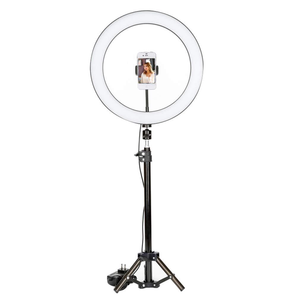 Peaceip US リングライト36W-6500K 14インチYouTube、カメラ/モバイルビデオキャプチャのための外部調光対応SMD LEDラウンドライト   B07NRHM6FJ