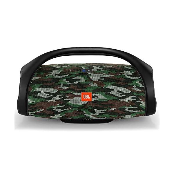 JBL Boombox - enceinte Bluetooth Portable - Son Ultra Puissant - Modes de Son Intérieur & Extérieur - Autonomie 24 Hrs - Étanche pour Piscine & Plage - Camouflage 1