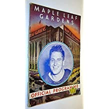 Maple Leaf Gardens Official Programme, December 30, 1944, Toronto Maple Leafs Vs. Chicago Black Hawks - Elwyn Morris Cover Photo / Coke Ad with Swastika / Turk Broda in the Military