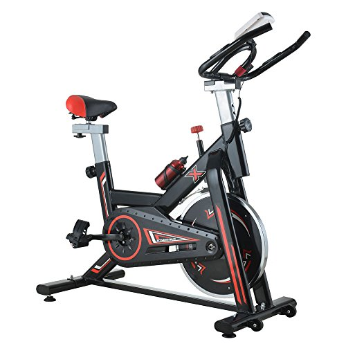 OASIS FOX Stationary Exercise Bicycle Indoor Cycling Bike Cardio Health Workout Fitness (15kg Flywheel) OASIS FOX