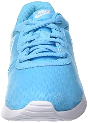 Nike Tanjun Br Wmns Kvinnor Gymnastiksko Blå 833677 410 Vita Ljusblå