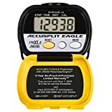 Accusplit AE170XLE Pedometer, Yellow/Black