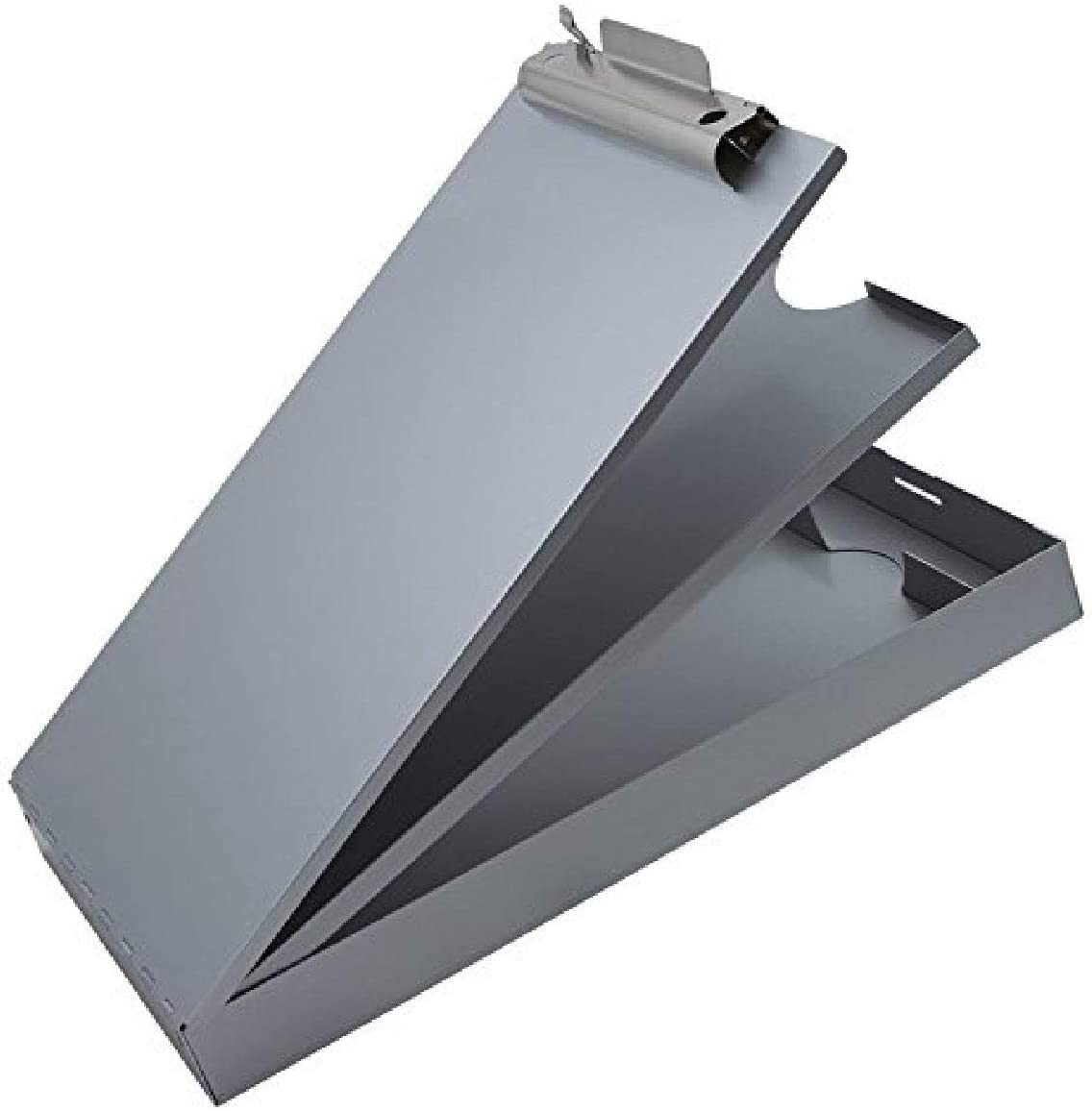 Saunders Recycled Aluminum Cruiser-Mate Storage Clipboard – Form Holder with Dual Storage and Self Locking Latch. Office Supplies