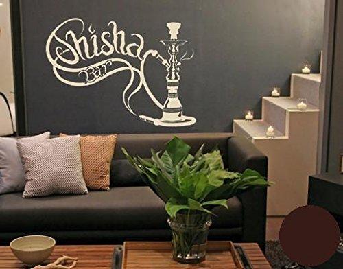 Klebefieber Wandtattoo Shisha-Bar Shisha-Bar Shisha-Bar B x H  100cm x 75cm Farbe  Schwarz B072BJ5DJJ Wandtattoos & Wandbilder 1a58c6