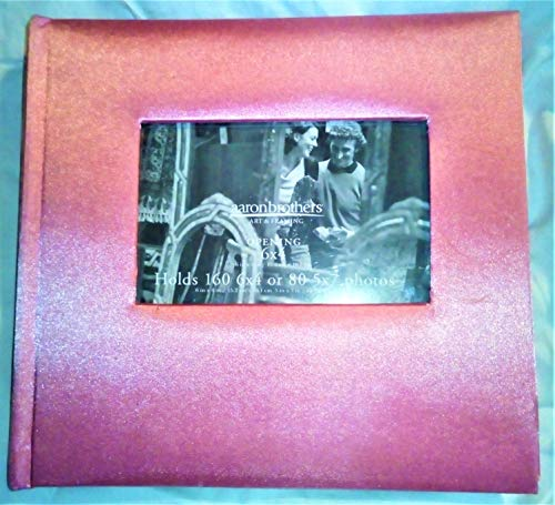Aaron Photograph - Aaron Brothers Luxery Decorated Photo Album - Pink 6x4