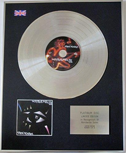 - CenturyMusic Steve Miller Band - Limited Edition CD Platinum Disc - Abracadabra