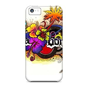 Durable Cell-phone Hard Cover For Apple Iphone 5c With Unique Design Nice Billabong Pattern KennethKaczmarek