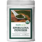Organic Spirulina & Chlorella Tablets – Purest Spirulina & Chorella in the World with 4 Organic Certifications – Green Superfood Blend for Total Body Health – Broken Cell Wall Form Chlorella
