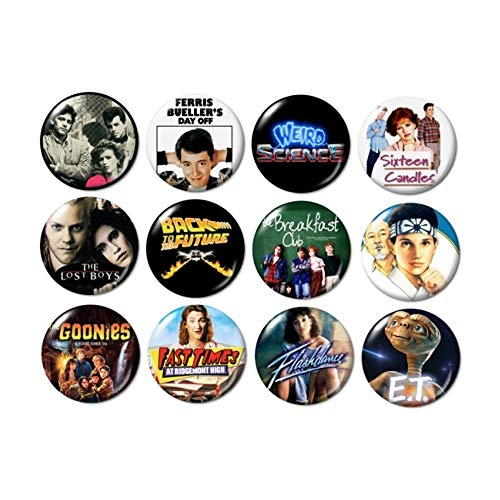 80's Movies Buttons (set #1)]()
