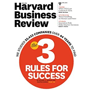 Harvard Business Review, April 2013 Periodical