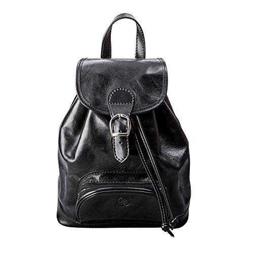 Bolso Tipo Negro En Terracota Mujer Italiana Scott® Mochila Color Para Piel Maxwell sparano pqSHB656n