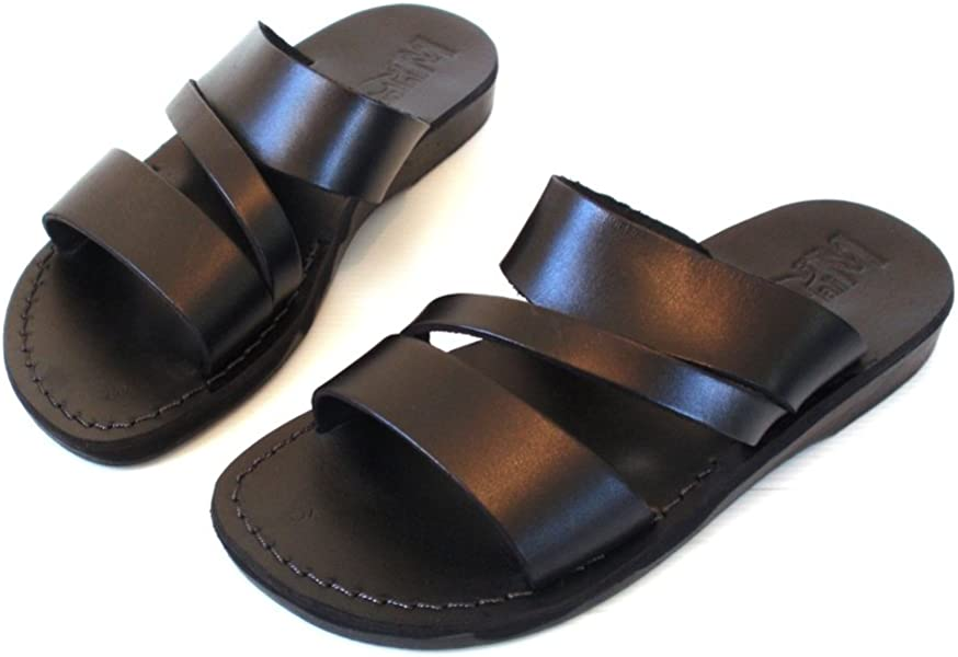 9b7a47b8bf974f Leather Sandals for Men Flip Flops Greek Beautiful Comfortable 11 Colors  Greece Style Brown