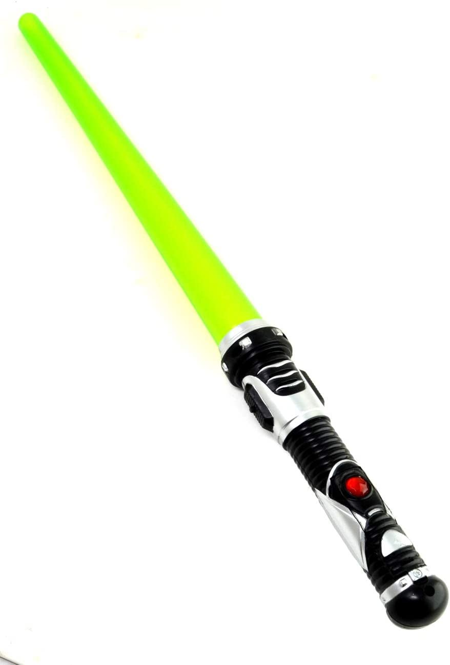 ARUNDEL SERVICES EU 2 Pacchetti di Spada Laser Spada Laser Spada Leggera 2 Verde Gioco Spaziale Spada Spada Giocattolo