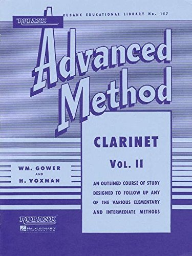 Rubank Advanced Method - Clarinet Vol. 2 (Rubank Educational Library) ()