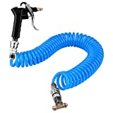 Air Duster Blow Gun with Nozzle and 9m Recoil Hose for Truck Lorry Van Dust Blower Cleaning
