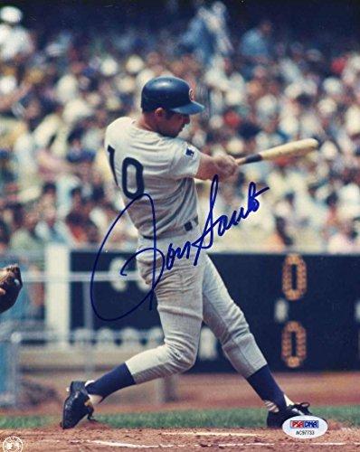 Ron Santo Autographed Photo - Coa 8x10 Authentic - PSA/DNA Certified - Autographed MLB Photos