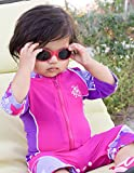 Tuga Baby/Toddler UV 400 Sunglasses w/ 2 Straps