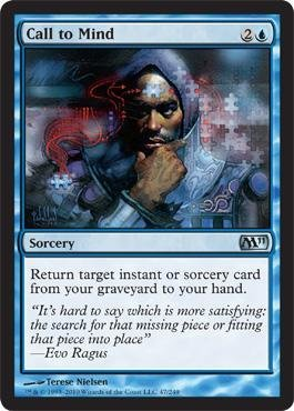 - Magic: the Gathering - Call to Mind - Magic 2011