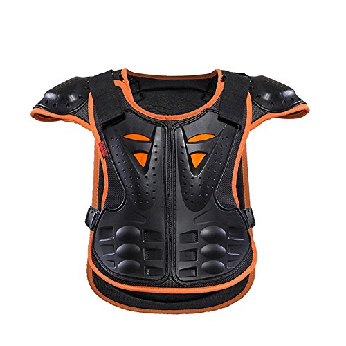 HEROBIKER Children Armor Vest Protective Kids Body Armor Skate Board Skiing Pulley Kids Jackets Suitable for 4-12 Age by HEROBIKER