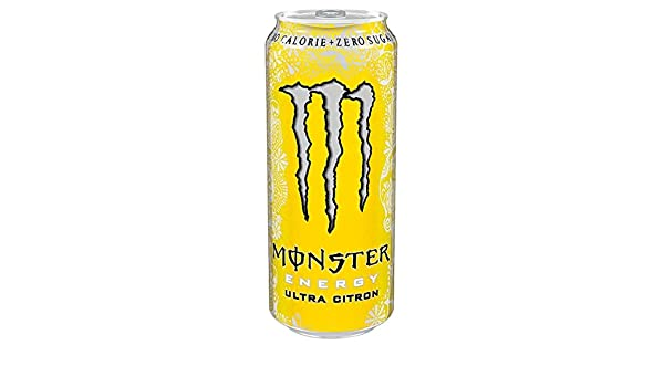Monster Ultra 500ml Citron (Pack de 12 x 500 ml): Amazon.es ...
