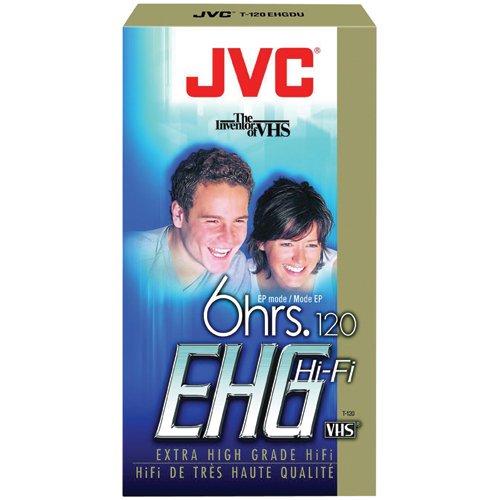 JVC T-120EHGDU Extra High Grade Vhs Videocassette
