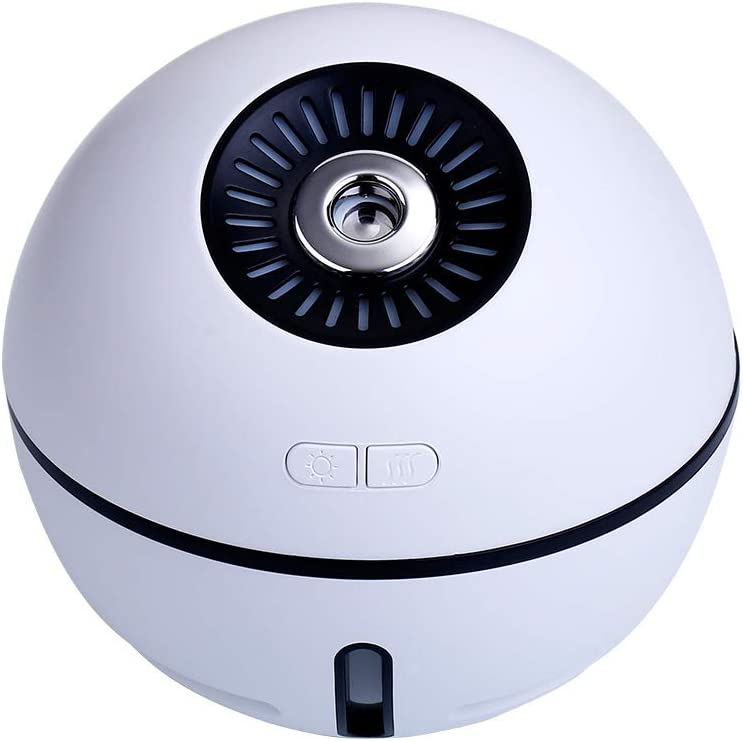 POWER BANKS Humidificadores de Niebla fría de 300 ml, Apagado automático sin Agua, Humidificador de Aire silencioso de 30 dB, Humidificadores ultrasónicos, Ideal para Dormitorio