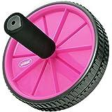 Roda De Exercícios Para Abdominal Rosa - Liveup - Roda De Exercícios Para Abdominal Rosa - Liveup