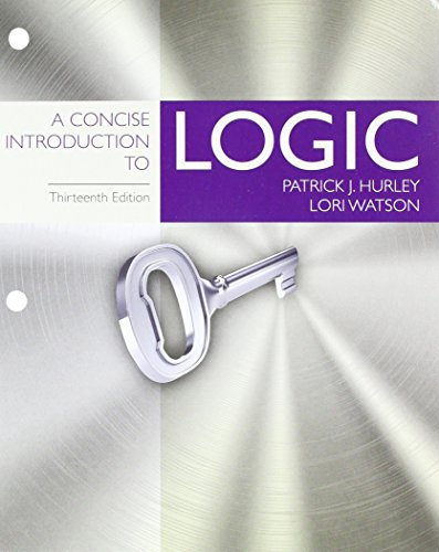 - Bundle: A Concise Introduction to Logic, Loose-Leaf Version, 13th + LMS Integrated MindTap Philosophy, 1 term (6 months) Printed Access Card
