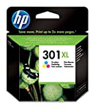 HP CH564EE 301XL High Yield Original Ink Cartridge, Tri-color, Pack of 1