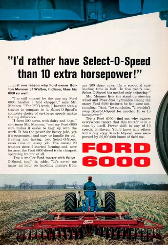 Review 1964 Ad Ford 6000