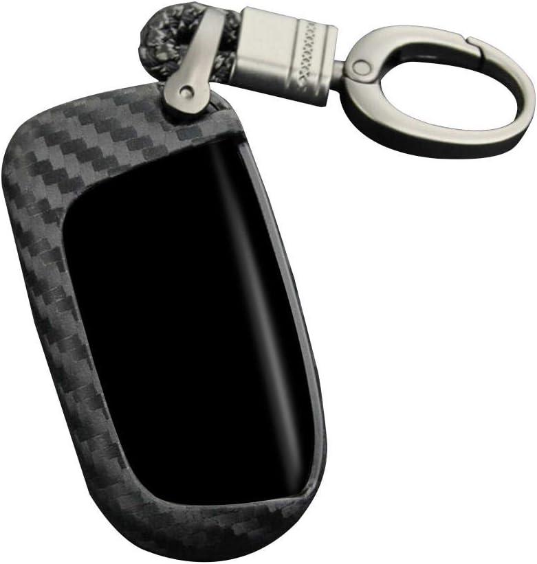 Smileyshy Autoschlüssel Schutzhülle Silikonschutz Für Schlüsselfernbedienung Schlüsselbund In Schwarzer Silikonhülle Für Jeep Dodge Chrysler Auto